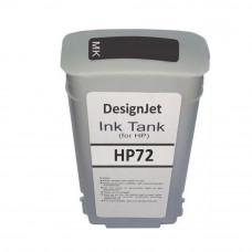 Cartucho de Tinta Compatível HP 72 Preto Fosco 130ml