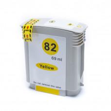 Cartucho de Tinta Compatível HP 82 Amarelo 69ml C4913A