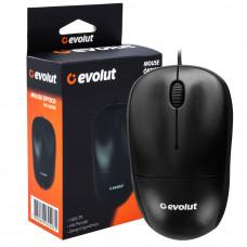 Mouse Optico EO-102 Preto 1000Dpi Ms851 EVOLUT