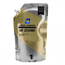 PÓ HF2520 PRETO 1KG PARA TONER HP - HIGH FUSION