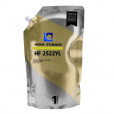 PÓ HF2522 AMARELO 1KG PARA TONER HP - HIGH FUSION 1025/1215/2025/M476N/3525/M551DN