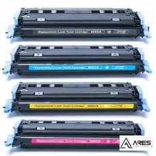 Kit Toner Compatível HP 2600 Q6000 Q6001 Q6002 Q6003 ARES