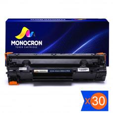 Kit 30 Toner Compatível HP Universal CB435A CB436A CE278A CE285A 2k Monocron