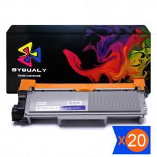Kit 20 Toner TN2340 TN660 2.6K Compatível BYQUALY