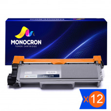 Kit 12 Toner TN2340 TN660 2.6K Compatível Monocron